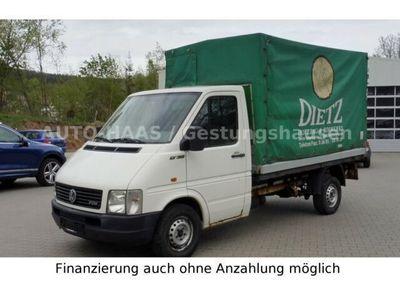 gebraucht VW LT 35 Pritsche Plane AHK ABS Aus 1.Hand