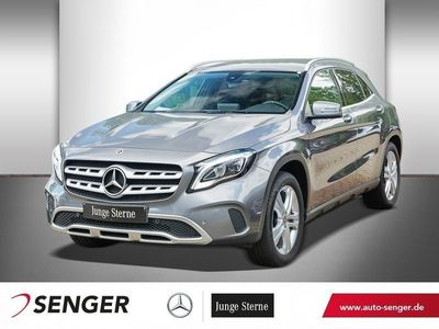 gebraucht Mercedes GLA220 D 4M URBAN+NAVI+KAMERA+LED+TEMPOMAT