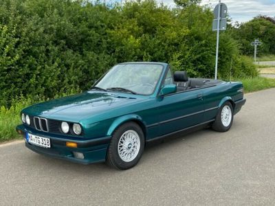 gebraucht BMW 318 Cabriolet i E30 Leder schwarz El. Verdeck