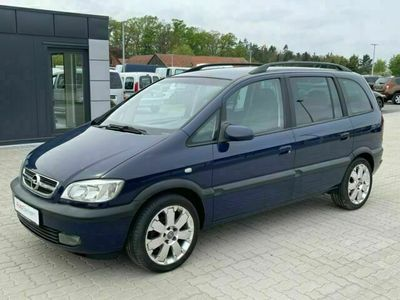 gebraucht Opel Zafira 1.8 Sportsline 7-Sitzer Klimaautomatik