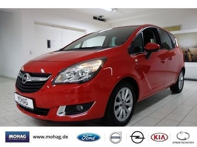 gebraucht Opel Meriva drive*NAVI*PDC*LMF*GJR*SHZ*BLUETOOTH*AHK*