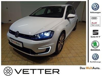 gebraucht VW Golf VII e-Golf 1-Gang Automatik KLIMA LED NAVI
