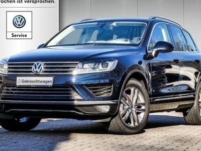 "gebraucht VW Touareg 3.0 TDI Luftf. Xenon Navi Leder AHK 19"" RKamera DAB+ Allrad KLIMA ALU"