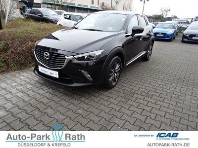 gebraucht Mazda CX-3 150PS Sports-Line *Allrad* Navi*Navi*8-Fach bereift*
