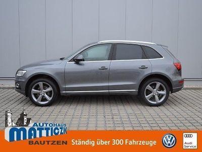 gebraucht Audi Q5 2.0 TDI EU6 quattro AHK/XENON/DESIGN-PAKET/20-ZOLL/APS/GRA/SHZ/KLIMA