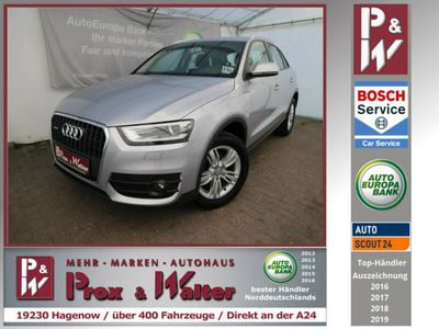 gebraucht Audi Q3 2.0 TDI quattro S-tronic NAVI + Bi-XENON