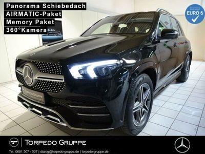 gebraucht Mercedes GLE400 d 4M AMG LED+PANO+AHK+DISTR+MBUX+AR+PTS+