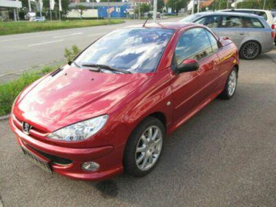 gebraucht Peugeot 206 CC /Cabrio,Klima,Alu,El.Dach, I-Hand