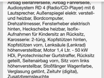 gebraucht Citroën C3 Pluriel 1.4 HDi