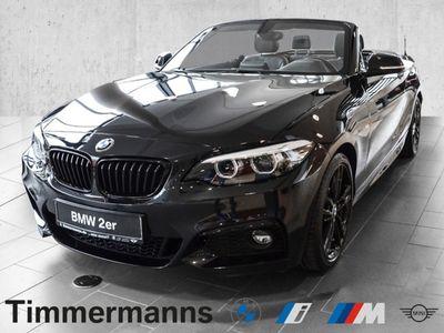 gebraucht BMW 220 i Cabrio M-Sport Leder Navi Harman Kardon DAB