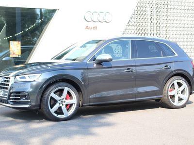 gebraucht Audi SQ5 TDI quattro tiptronic Panodach Navi LED Leder