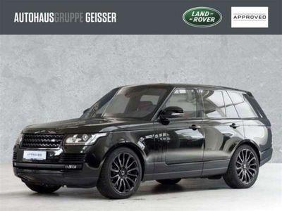 """gebraucht Land Rover Range Rover SDV8 Autobio. AHK ACC SD Standh. 22"""""""