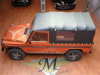 gebraucht Mercedes G230 DB /Puch General Cabrio 4x4 Leder AHK IKA. Tolles