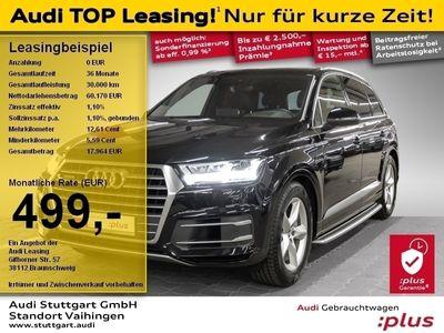 gebraucht Audi Q7 50 TDI quattro tiptronic LED Bose VirtCo