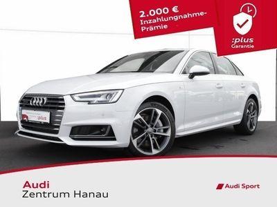 gebraucht Audi A4 Limo 2.0 TFSI quattro S-line LED*ACC*TECHNOLOGY*DAB*