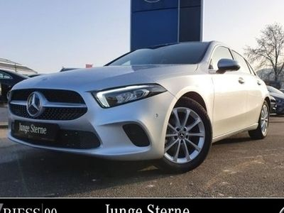 gebraucht Mercedes A180 d Progressive Prem Navi LED MBUX 17'' Umw