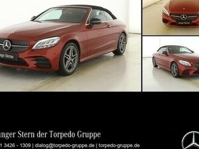 gebraucht Mercedes C200 CABRIO AMG AIRSCARF+LED+NIGHT+KAMERA+KEYLE