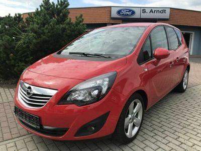 gebraucht Opel Meriva 1.4 Design Edition Fahradträger Klimaauto
