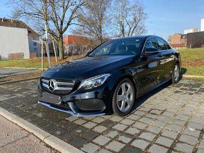 gebraucht Mercedes C220 (BlueTEC) d 7G-TRONIC AMG Line/Keyless Go/Volleder