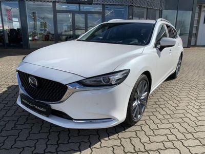 gebraucht Mazda 6 SKYACTIV-G 194 Excl. ACT-P 19 Zoll Räder ACAA