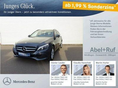 gebraucht Mercedes C200 d T Navigation LED High Performance aktPTS