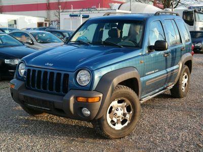 gebraucht Jeep Cherokee Limited 2.5 CRD/Klima/AHK/SHD