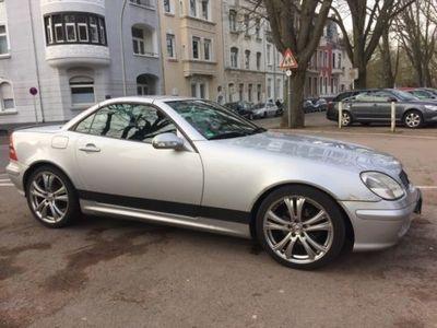 gebraucht Mercedes 200 SLK CabrioKompressor 163 PS 18 Zoll X...