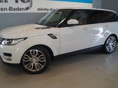 gebraucht Land Rover Range Rover Sport 3.0 TDV6 HSE Xenon Bluetooth PDC MP3 Schn. Klima