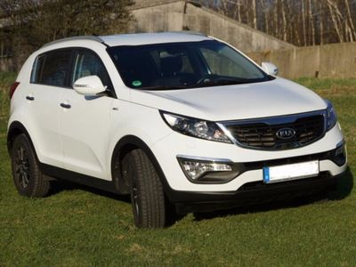 gebraucht Kia Sportage 2.0 CRDi 4WD Automatik Spirit