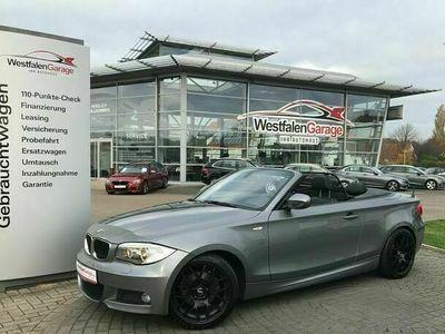 """gebraucht BMW 120 Cabriolet d M-Paket, 18""""Alu,Xenon,Leder,PDC als Cabrio/Roadster in Lübbecke"""
