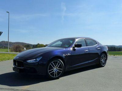 gebraucht Maserati Ghibli 3.0 V6 Automatik/Nav/Kam/Leder TOP !