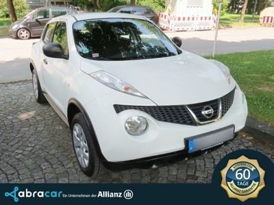 used Nissan Juke Visia 1.6 *Klima*8fach*Unfallfrei*Garantie*
