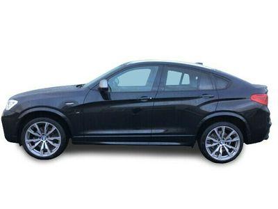 gebraucht BMW X4 M40 i Navi AD Kurvenlicht e-Sitze HUD ACC Rückfahrkam. Allrad Fernlichtass.