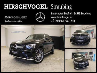 gebraucht Mercedes 350 GLCd 4M AMG-Line+AHK+SD+Distron+Com+ILS+Kam