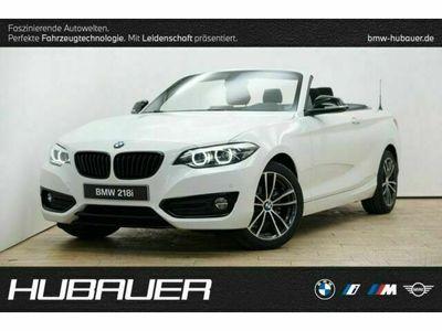 gebraucht BMW 218 i Cabrio [Sport Line, Navi, RFK, SHZ, LED]