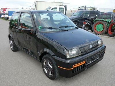 gebraucht Fiat Cinquecento 0.9 LITER*SPORTING*BLACK*ALU*D3-KAT