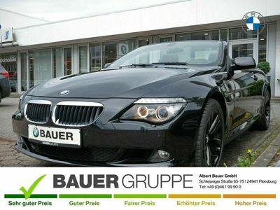 gebraucht BMW 630 Cabriolet i Navi Prof. HUD Leder HiFi Bluetooth