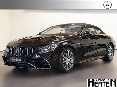 gebraucht Mercedes S63 AMG S 63 AMG Mercedes-AMG4M Cabrio Swarowski Head-up
