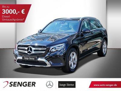 gebraucht Mercedes GLC300 4M AMG-LINE+NAVI+PANO+LED+SHZ+MEMORY+TEMP