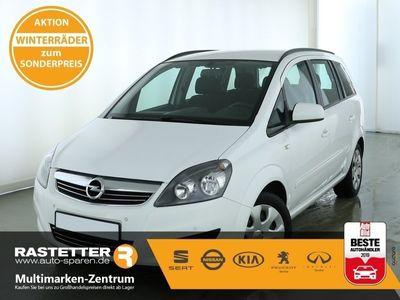 gebraucht Opel Zafira 1.8 Family 7S SHZ PDC Klima Temp MFL eFH eASP ZV Reling