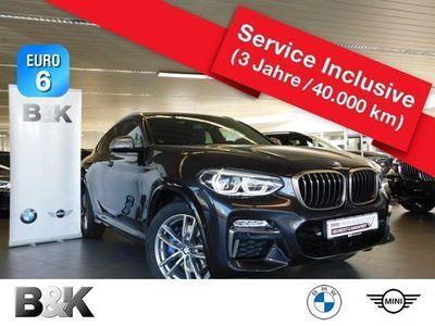 gebraucht BMW X4 M40I Sportpaket Bluetooth HUD Navi LED Klima
