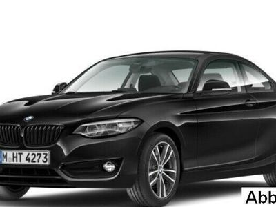 gebraucht BMW 218 i Coupe Sport Line Navi Business Klimaaut.