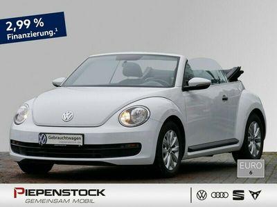 gebraucht VW Beetle Cabriolet 1.2 TSI Navi+Klima+GRA+LM Räder