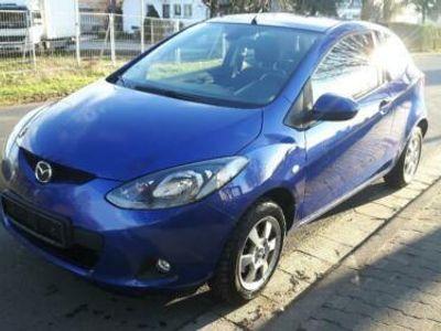 gebraucht Mazda 2 Blau 125000KM 1,3L HU:07/19 Guter Zustand