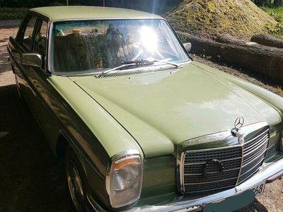 gebraucht Mercedes W115 220 D/H Kennzeichen