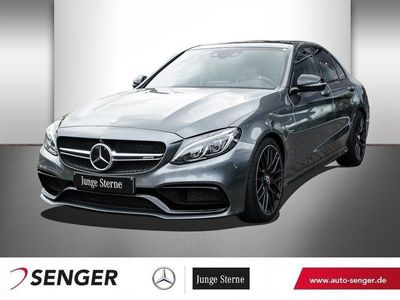 käytetty Mercedes C63S AMG AMG DRIVERS PACKAGE+BURMESTER+PANO+360°