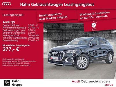 gebraucht Audi Q3 40TDI EU6d qu. S-Trc advanced LED Einpark Sitzh