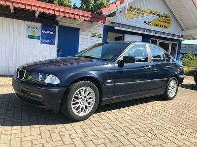 gebraucht BMW 316 Bj. 2001, Aluräder, Klimaanlage, ohne TÜV