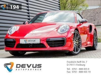 gebraucht Porsche 911 Turbo Cabriolet 991 3.8 Sport-Chrono Keramik PDLS+