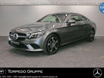 gebraucht Mercedes C220 d COUPÉ LED+KAMERA+KEYLESS+PTS+SHZ+KLIMA+K
